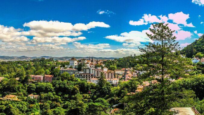Panorama di Sintra - Foto di Luís Marques