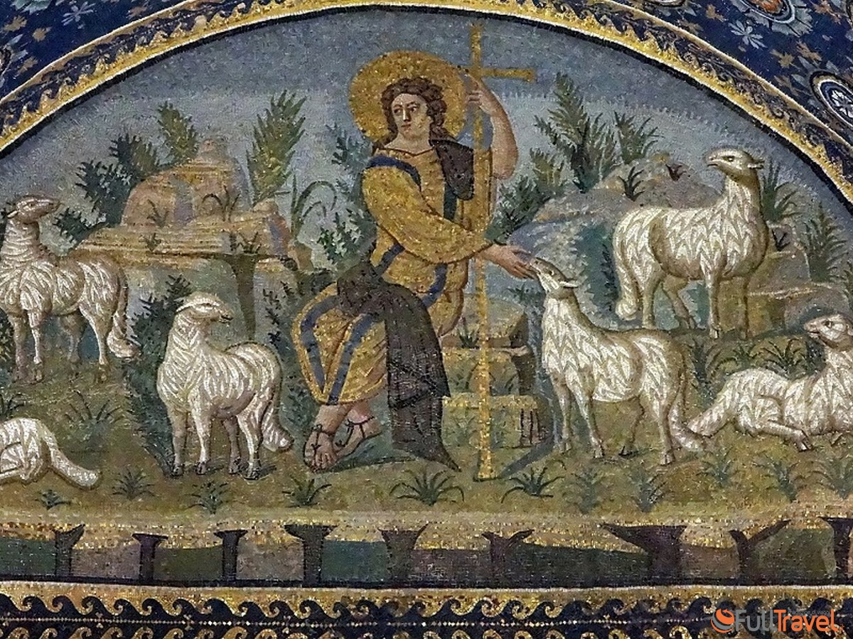 Mausoleo di Galla Placidia - Il Buon Pastore - Foto Awsloley