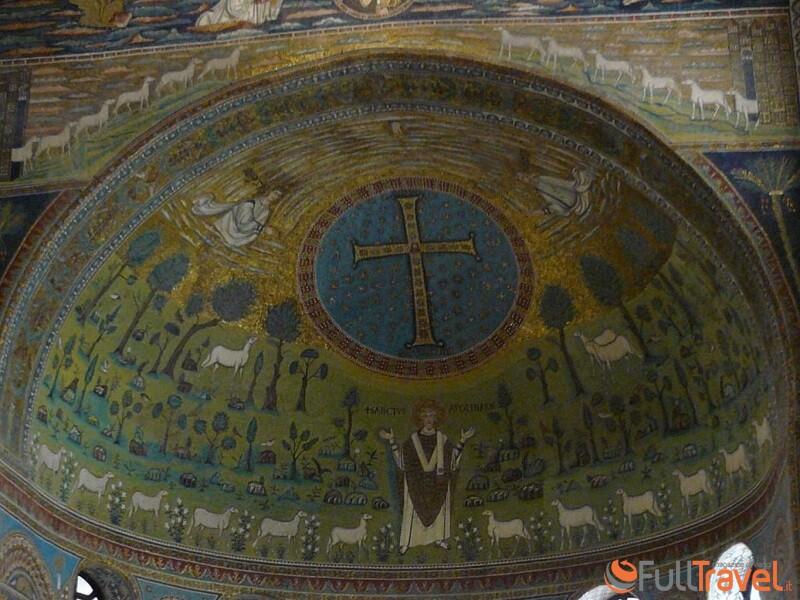 Sant'Apollinare in Classe, mosaico dell'abside - Foto Francesco Mura