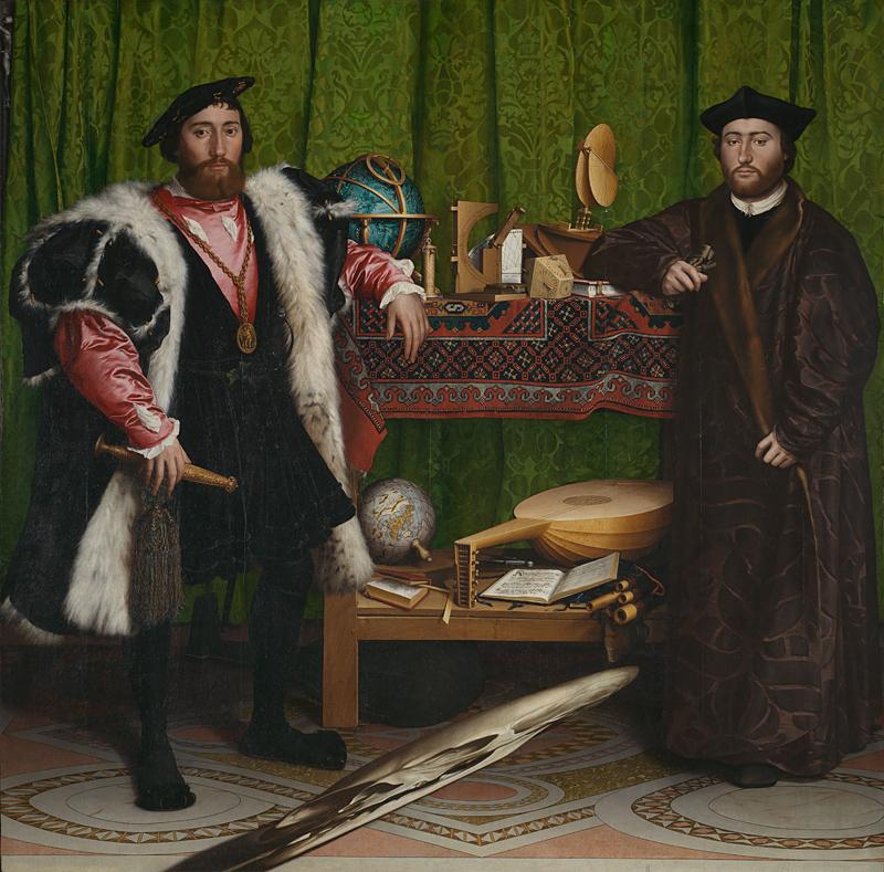 Gli ambasciatori di Hans Holbein il Giovane - Foto National Gallery Londra