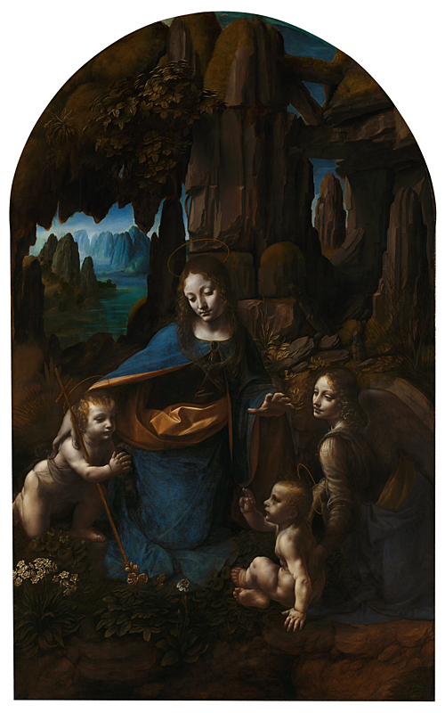 La Vergine delle Rocce di Leonardo da Vinci - Foto National Gallery Londra