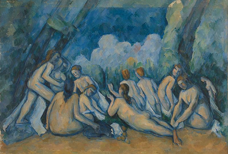 Le grandi bagnanti di Paul Cezanne - Foto National Gallery Londra