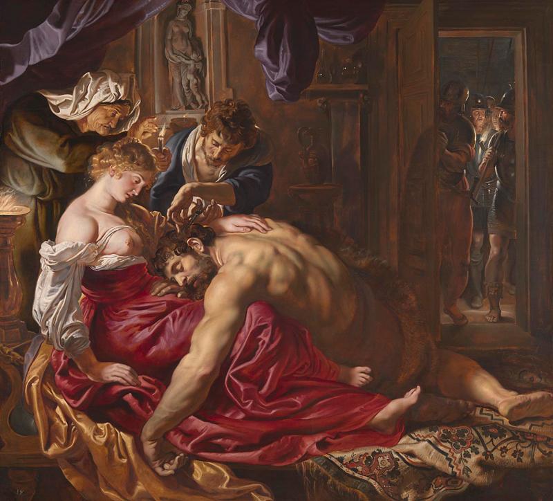 Sansone e Dalila di Peter Paul Rubens - Foto National Gallery Londra