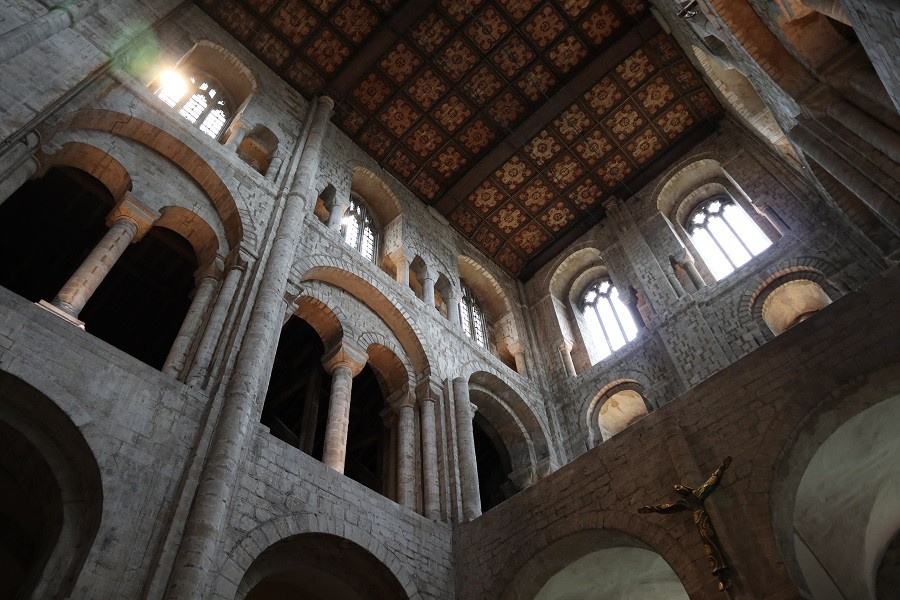 Il transetto normanno della Cattedrale, Winchester ©Foto Ilaria Maria Mura