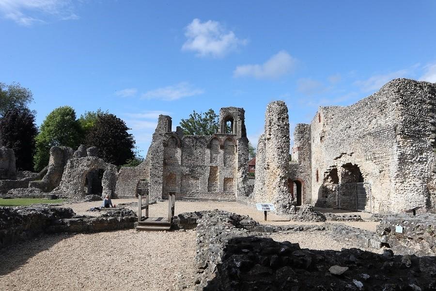 Le rovine di Wolvesley Castle, Winchester ©Foto Ilaria Maria Mura