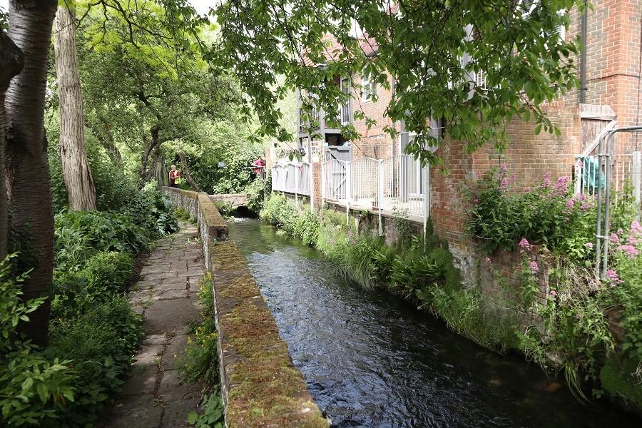Il fiume Itchen presso il City Mill, Winchester ©Foto Ilaria Maria Mura