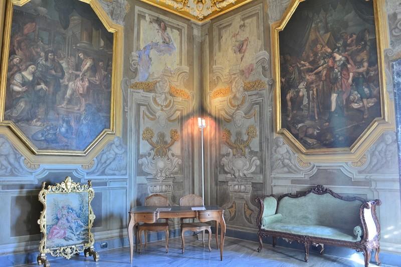 Salotto delle Virtù Patrie nel Palazzo Rosso, Genova – Foto Alessandro